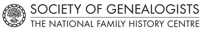 Society of Genealogists Logo